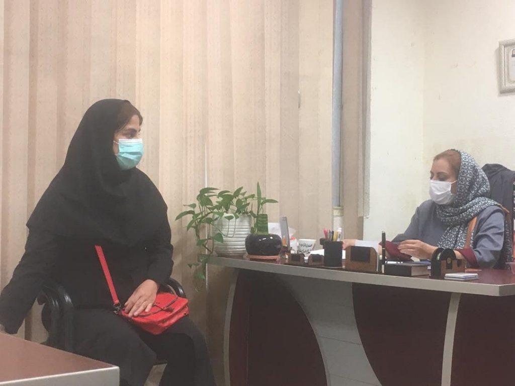 فعالیت گسترده ی شعبه ی تهران با مدیریت سرکار خانم مریم خرسندی کلوانق